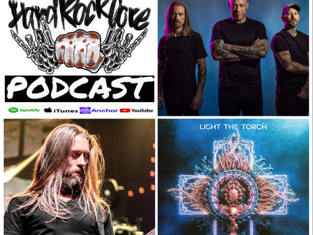 THE HARDROCKCORE PODCAST Episode 51 with FRANCESCO ARTUSATO (LIGHT THE TORCH)