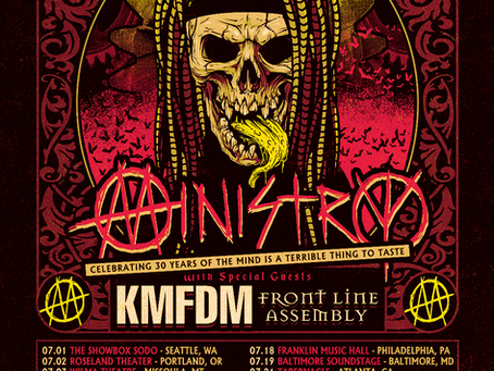 tour - ministry WITH kmfdm