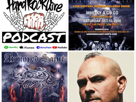 THE HARDROCKCORE PODCAST Episode 27 with Bassist JOEY VERA of ARMORED SAINT
