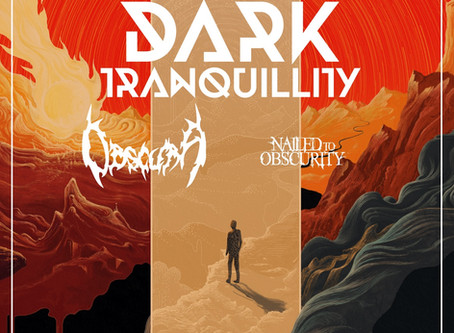 OBSCURA & NAILED TO OBSCURITY Announce North American Moment Tour With Headliners DARK TRANQUILLITY