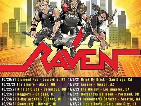 RAVEN to tour the US