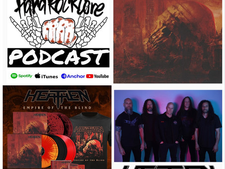 THE HARDROCKCORE PODCAST Episode 30 with vocalist DAVID WHITE of HEATHEN