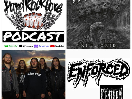 THE HARDROCKCORE PODCAST Episode 44 with KNOX COLBY of ENFORCED