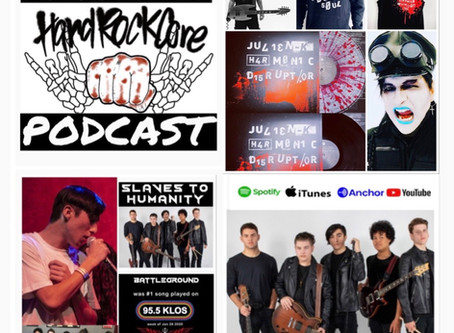 THE HARDROCKCORE PODCAST Episode 23 with AIDAN AMINI of SLAVES TO HUMANITY and AMIR DERAKH