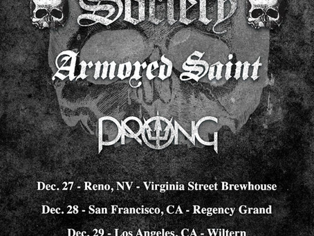 ARMORED SAINT dates with BLACK LABEL SOCIETY