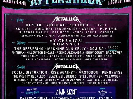 AFTERSHOCK 2021 - Incredible Lineup!