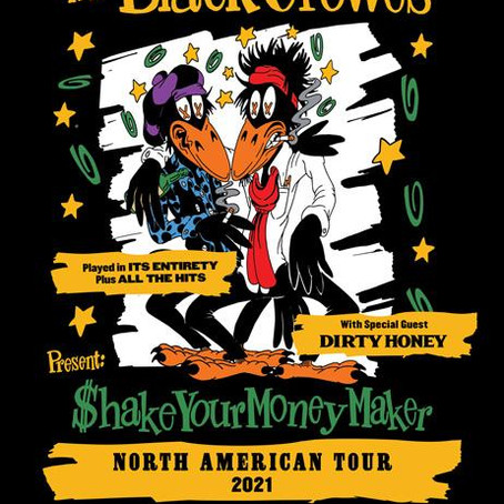 DIRTY HONEY to open for THE BLACK CROWES