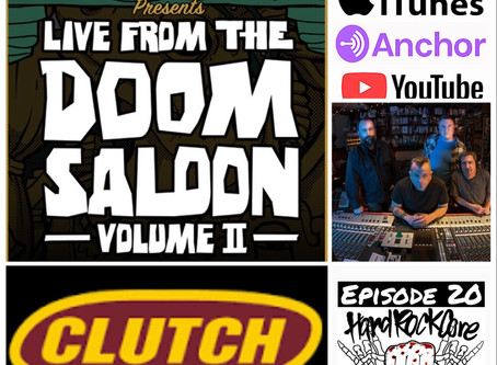 THE HARDROCKCORE PODCAST Episode 20 with JEAN-PAUL GASTER of CLUTCH
