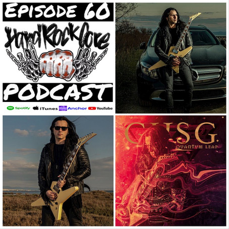 THE HARDROCKCORE PODCAST Episode 60 with GUS G