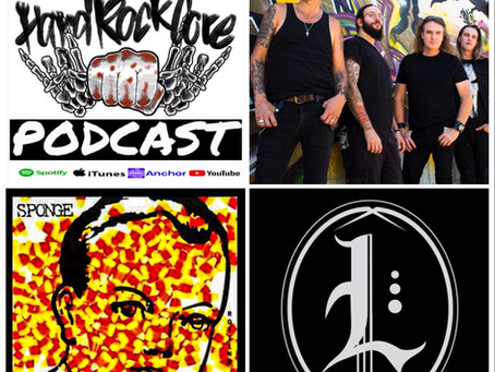 THE HARDROCKCORE PODCAST Episode 59 with VINNIE DOMBROSKI (SPONGE, THE LUCID)