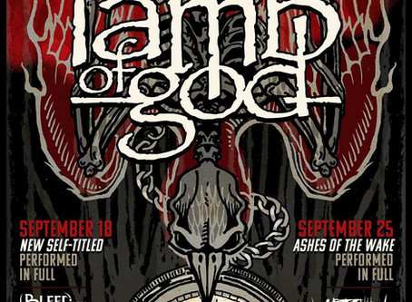 LAMB OF GOD Announce Two Massive Worldwide Streaming Events