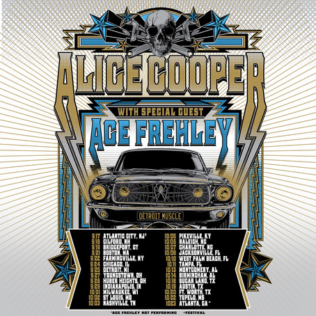ALICE COOPER and ACE FREHLEY to tour together