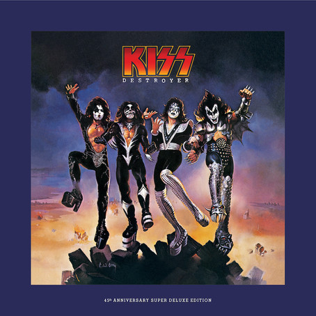 ROCK ICONS KISS RELEASE FIRST UNRELASED TRACK FROM DESTROYER 45TH DELUXE EDITION