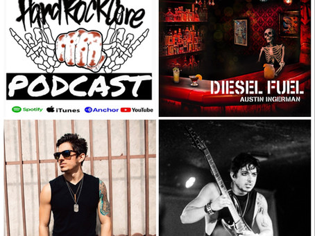 THE HARDROCKCORE PODCAST Episode 31 with guitarist AUSTIN INGERMAN of NEW YEARS DAY