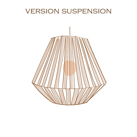 AYMEcreation-luminaire-Simone petite version suspension à personnaliser