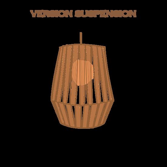AYMEcreation-luminaire-Gaby version suspension à personnaliser