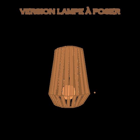 AYMEcreation-luminaire-Adele version lampe à poser à personnaliser