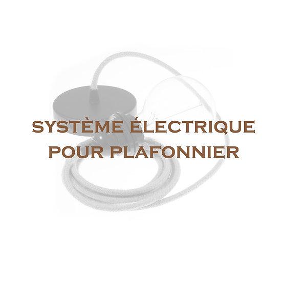 Titre système électrique plafonnier