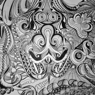 """D1 - Mandala """"Hypnose"""""""