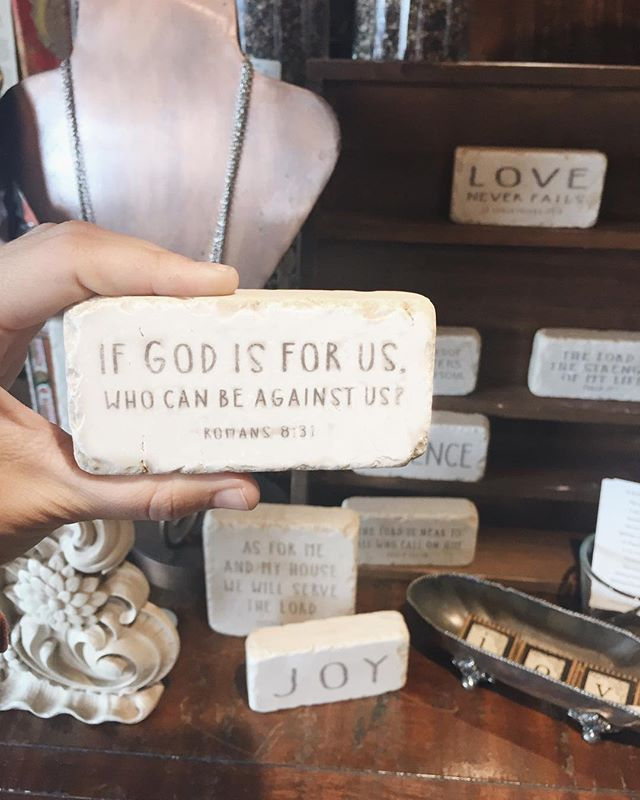 Scripture stones MIGHT be our favorite l