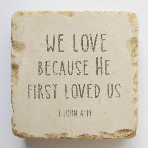 500   1 John 4:19