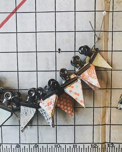 mini little triangles for mini little ba