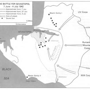 The Battle for Sebastopol July 1942