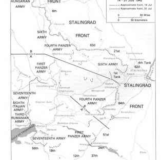 Operation Blue - the assault on Stalingrad and the Caucuses