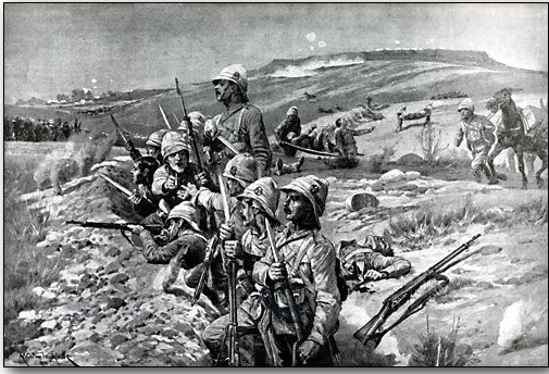 British entrenched near Ladysmith