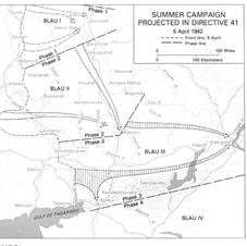 German Summer campaign April 1942