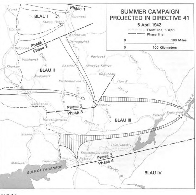 German Summer campaign April 1942