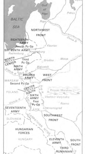 All three fronts - the north, centre and south.