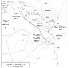 Operation Uranus - Russians counter attack