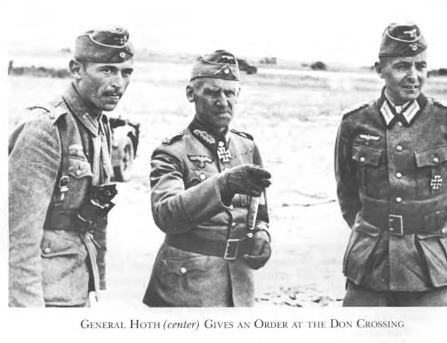 "General ""Papa"" Hoth officer commanding Fourth Panzer Army"
