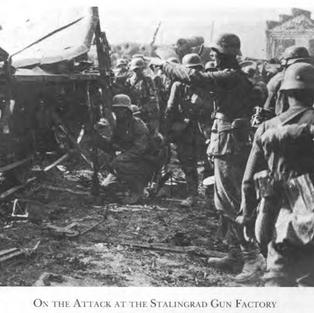 German platoon at the Stalingrad Gun Factory