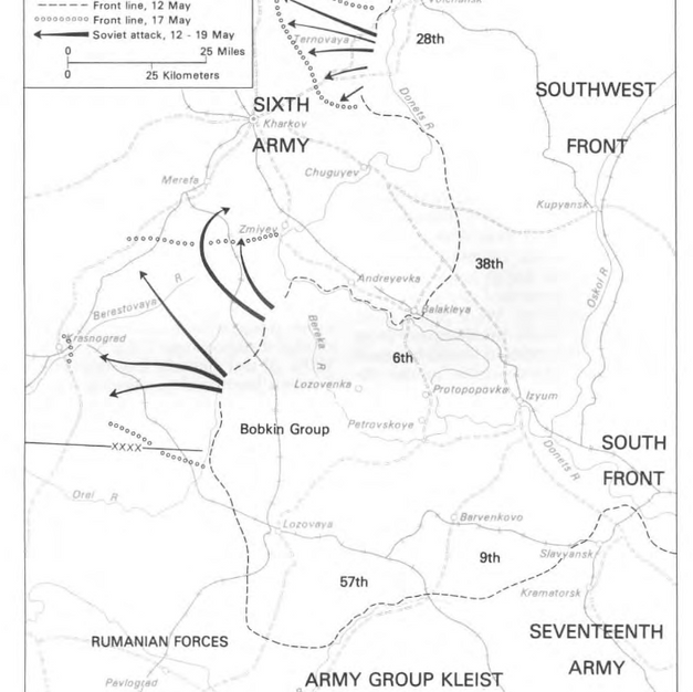 The Soviet Offensive in Kharkov