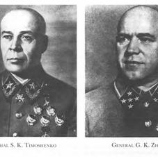 General Timoshenko and General Zhukov