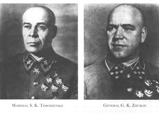 General Timoshenko and General Zhukov