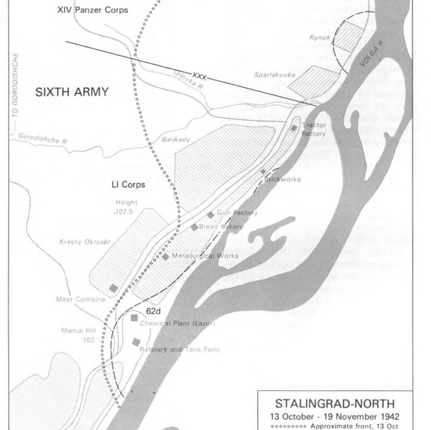 Stalingrad North Oct/Nov 1942