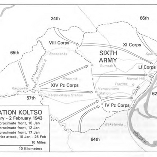 Operation Koltso Jan-Feb 1943