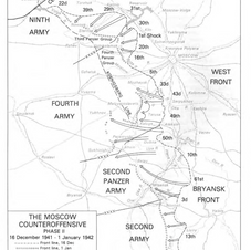 Operation Barbarossa - a map of all three fronts