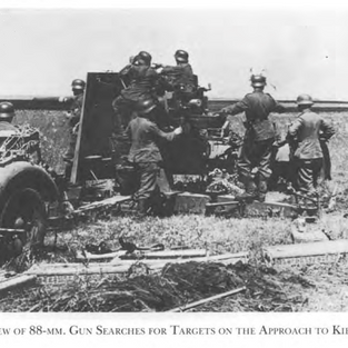 The much feared German 88mm searching for targets
