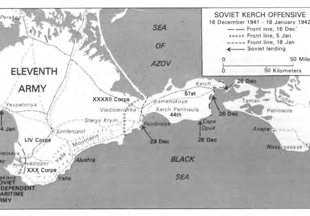 The Kerch Offensive January 1942