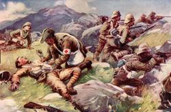 British wounded Elandslaagte