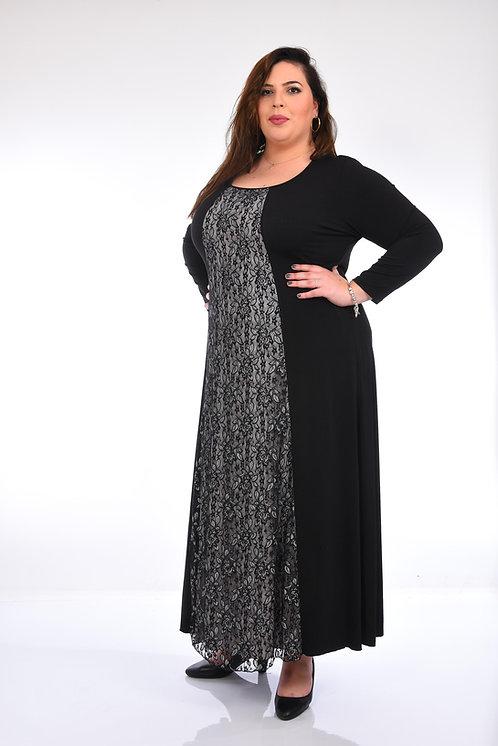 שמלה שכבת שיפון לורקס