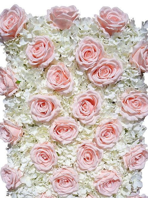 Flower Wall Premium Silk Roses & Hydrangeas  - In House Rental