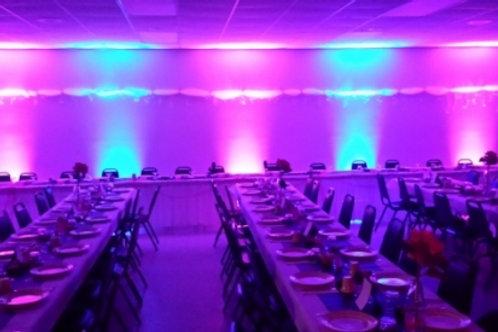 Wireless DMX Battery Powered LED PAR 6in1 RGBWA+UV uplight- In House Rental