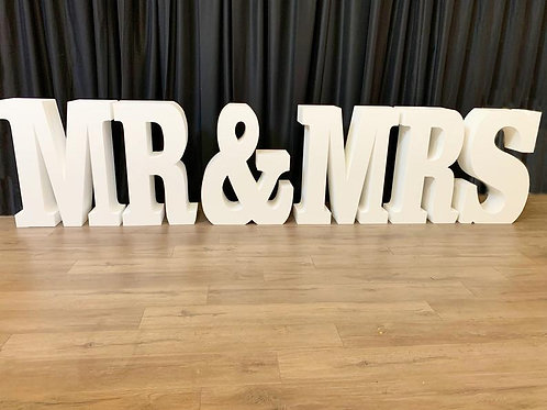 MR & MRS Table - In House Rental