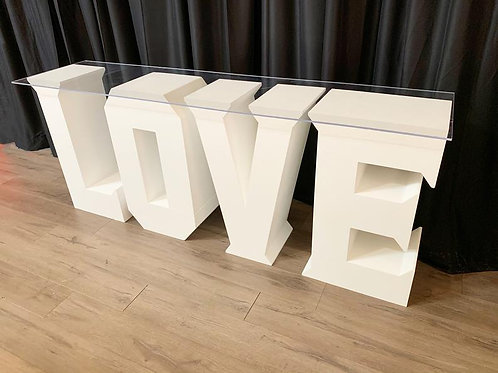 LOVE Table - In House Rental