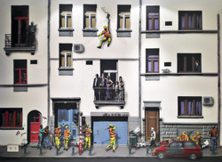 Commissioned wall - Luxembourg city